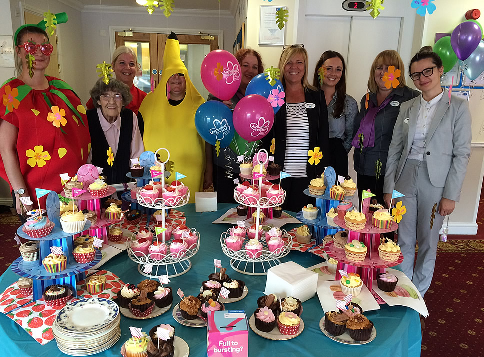 Cupcakes Galore at Brentwood Care Centre!