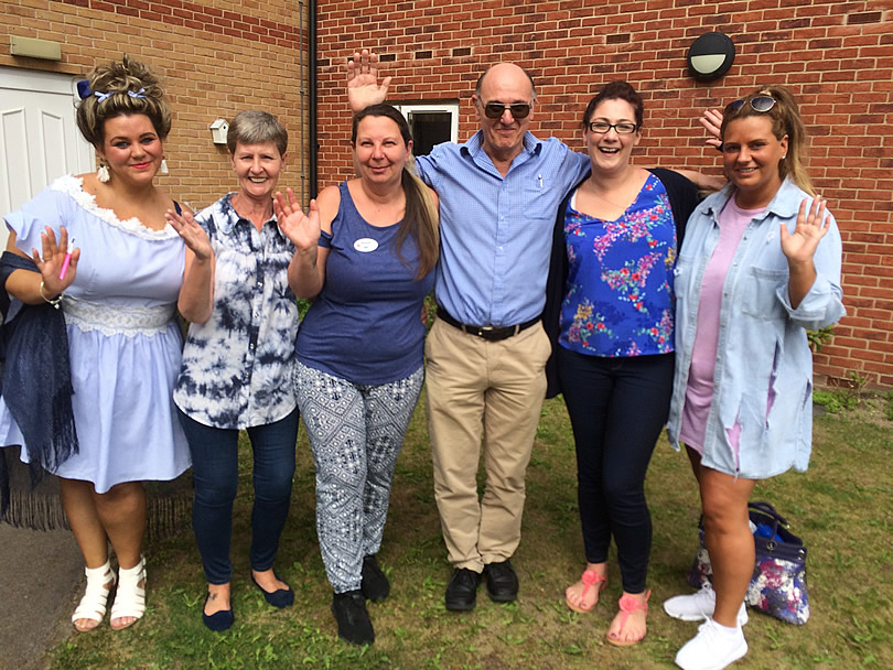 Local care home take park in 6K walk to mark this weeks Dementia Action Week